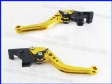 Yamaha FJR1300 (04-13), CNC levers short gold/black adjusters, F16/C777